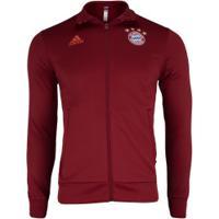 Jaqueta Bayern De Munique 3S 19/20 Adidas - Masculina - Vermelho