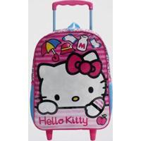 Mochilete Hello Kitty Infantil Xeryus Feminina - Feminino-Rosa