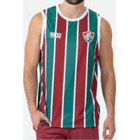 Camiseta Regata Braziline Fluminense Partner Masculina - Masculino