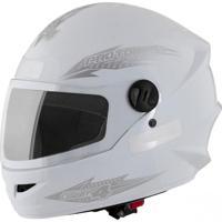 Capacete Moto New Liberty Four 58 Branco - Pro Tork