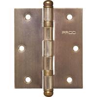Kit Com 3 Dobradiças Com Rolamento Bronze Oxidado 3 Sm 3025 R Bx - Pado - Pado