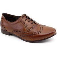 Sapato Oxford Chaville 240125 Couro Caramelo Caramelo