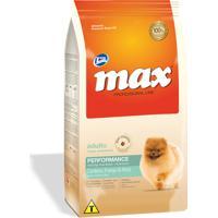 Ração Para Cães Max Professional Line Performance Adultos Raças Pequenas Sabor Cordeiro, Frango E Arroz 2Kg