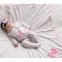 Saída De Maternidade Sônia Enxovais Menina Luxo Maitê Floral Rosa
