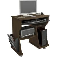 Mesa Para Computador Amêndoa & Preto