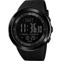 Relógio Pedômetro Skmei Digital 1403 Masculino - Masculino-Preto