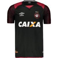 Camisa Umbro Athletico Paranaense Goleiro 2017 N°12 Weverton Masculina - Masculino