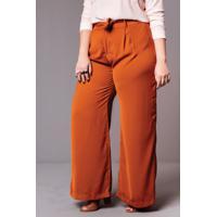 Calça Pantalona Terra Plus Size