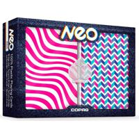 Baralho Neo Wave Estojo Duplo 100% Plastico - Copag
