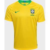 Camisa Seleção Brasil I 2018 S/N° - Torcedor Nike Masculina - Masculino