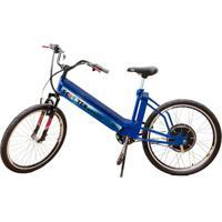 Bicicleta Elétrica Scooter Brasil Mtb 800W 48V 12Ah Azul