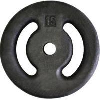 Anilha De Peso Pintada Para Musculação 15Kg Vazada - Unissex