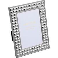 Porta Retrato Diamond- Prateado- Tamanho Da Foto: 10Rojemac