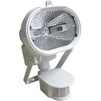 Refletor Para 1 Lâmpada Com Sensor De Presença 150W Bivolt Branco