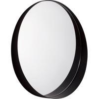 Espelho Decorativo Bart 60 X 64 Cm Preto