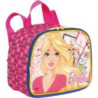 Lancheira Infantil Barbie 19M - Feminino-Rosa
