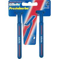 Aparelho De Barbear Gillette Prestobarba - 2 Unidades - Unissex-Incolor