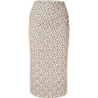 Nº21 Geometric Print Skirt - Neutro