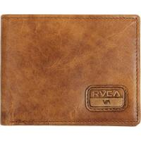 Carteira Rvca Dispatch Leather Light Brown - Masculino