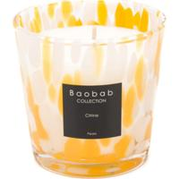 Baobab Collection Vela Aromatizada Citrus Pearls - Branco