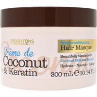 Creightons Crème Coconut Keratin -Máscara De Hidratação 300Ml - Unissex-Incolor