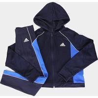 Agasalho Adidas Athletics Feminino - Feminino-Marinho