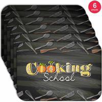 Jogo Americano Love Decor Wevans Cooking School Kit Com 6 Pçs