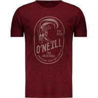 Camiseta O'Neill Especial Original Masculina - Masculino-Vermelho