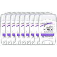 Kit Desodorante Antitranspirante Rexona Clinical Extra Dry Feminino Stick 48G Com 9 Unidades - Feminino-Incolor