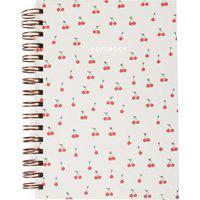 Caderno Espiral Cherry Em Papel P 1 Peça - Bege