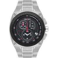 Relógio Orient Speedtech Ers Mtftc002 Titanio Masculino - Masculino-Prata