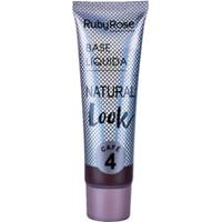 Base Líquida Natural Look Café Ruby Rose