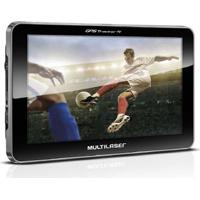 Gps Lcd 7 Pol. Touch Tv Digital Rádio Fm Tts E-Book Multilaser - Gp038 Gp038