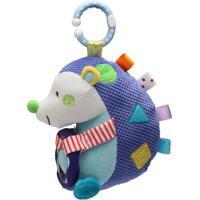 Brinquedo De Pendurar Porco Espinho Azul