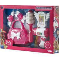 Barbie Kit Secador De Cabelo Dreamtopia Sortido Indicado Ppra +3 Anos Multikids Br920