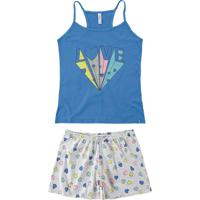Pijama Azul Nadador Love