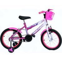 Bicicleta Aro 16 Wendy Com Roda Al E Acessorios - Unissex