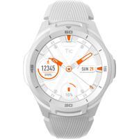 Relógio Ticwatch Smartwatch Unissex Ticwatch S2 Bxbx Caixa Em Poliamida Branca Pulseira Silicone Branca