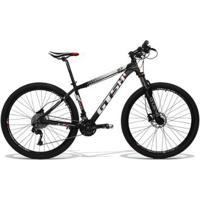 Bicicleta Gts Aro 29 Freio A Disco Hidráulico Câmbio Gts M1 Rx10 30 Marchas E Amortecedor Trava - Unissex