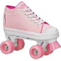 Patins Roller Derby Infantil Zinger Girls Para Meninas 36