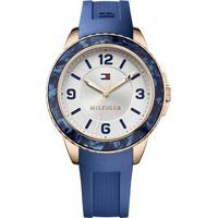 Relógio Tommy Hilfiger Feminino Borracha Azul - 1781539
