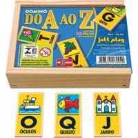 Dominó Do A Ao Z 24 Peças - Jottplay