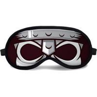 Máscara De Dormir Tritengo Skull - Unissex-Cinza