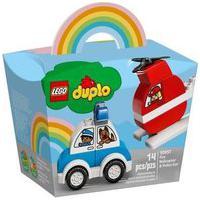 Lego® Duplo - Helicóptero De Bombeiro E Carro Da Polícia 10957 Lego