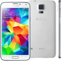 Smartphone Galaxy S5 Sm-G900Md Dual-Chip - 32Gb - Branco - 4Glte - Android 4.4