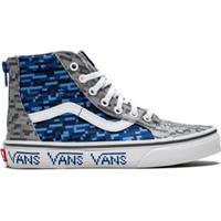 Vans Kids Tênis Sk8-Hi Zip - Azul