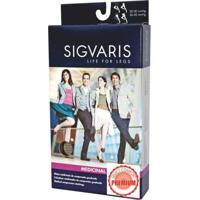 Meia Elástica Sigvaris Select Comfort At Tamanho Grande Curta Feminina Cor Natural Compressão 20-30Mmhg Ref: G1A33