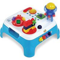 Mesa Max Atividades Azul Com Som E Luzes Magic Toys 1060L