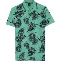 Camisa Verde Polo Tradicional Tropical