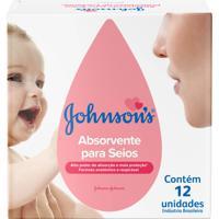Absorventes Para Seios Johnson'S Johnson E Johnson 12 Unidades